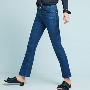Anthropologie Pilcro High Rise Bootcut Crop Jeans